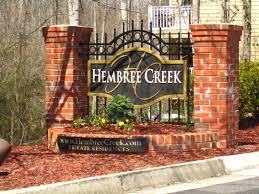 Hembree Creek Entry Sign